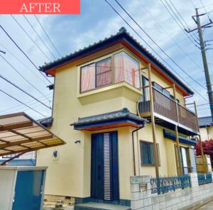 外壁塗装の事例【千葉県船橋市のお客様】アフター画像