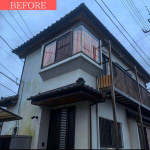 外壁塗装の事例【千葉県船橋市のお客様】ビフォー画像